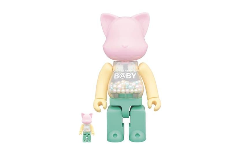 Medicom Toy MY FIRST RaBBRICK Nya brick 100 400 Chiaki Kuriyama my plastic clear toys collectibles omotesando hills