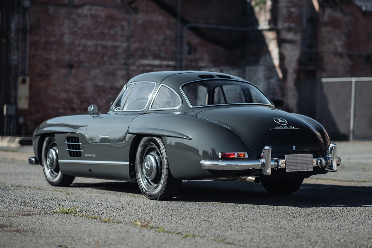 Bring A Trailer Car Collector Auction Platform Special Service 1956 Mercedes-Benz 300 SL Gullwing $1.1 Million USD Closer Look Video Automotive Classic Rare Cars