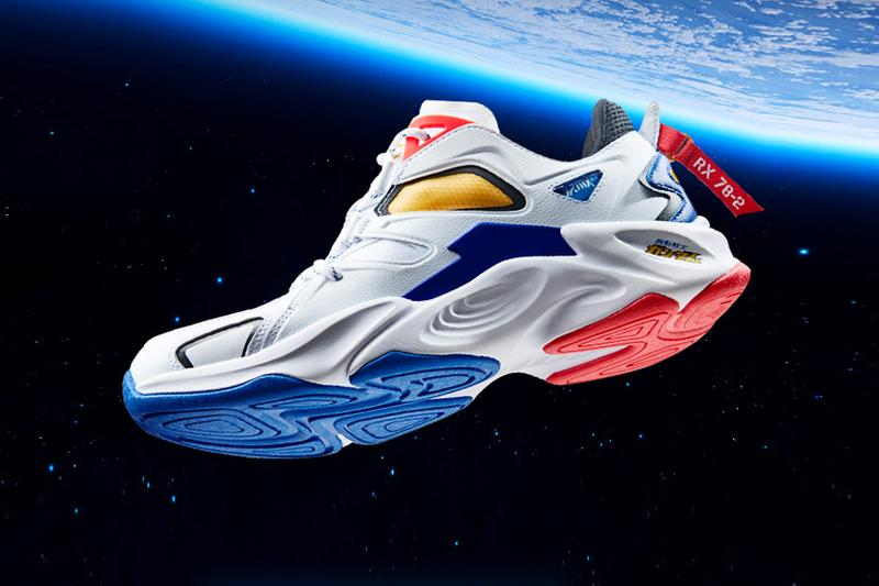 Mobile Suit Gundam 361° RX-78-2 Sneaker Release White blue red yellow