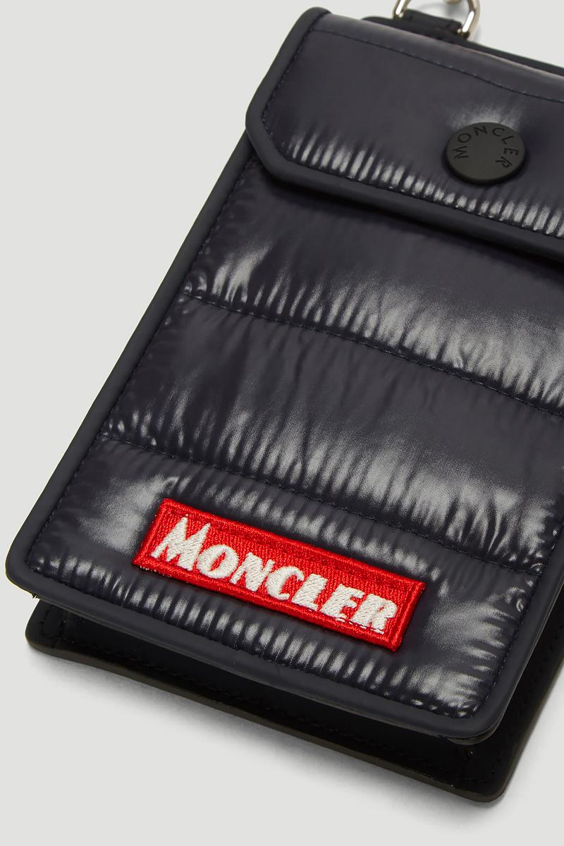 Moncler Quilted Phone Case Grey Black Alpine iPhone X XS XR Samsung Accessories Apple Strap Release Info