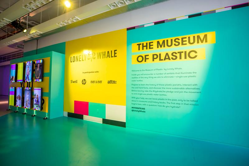 museum of plastic exhibition pop up popup nyc lonely whale young hero