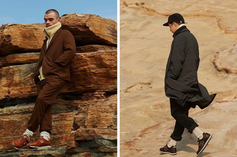 nanamica Fall Winter 2019 Collection pea coat sailors jacket mac jacket quilted gore tex lining wool fleece suit gingham essentials muted