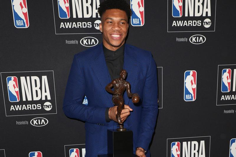 Giannis Antetokounmpo Wins 2019 NBA MVP Award Luka Dončić  Pascal Siakam Mike Conley Lou Williams Mike Budenholzer Milwaukee Bucks Bradley Beal Results Recap