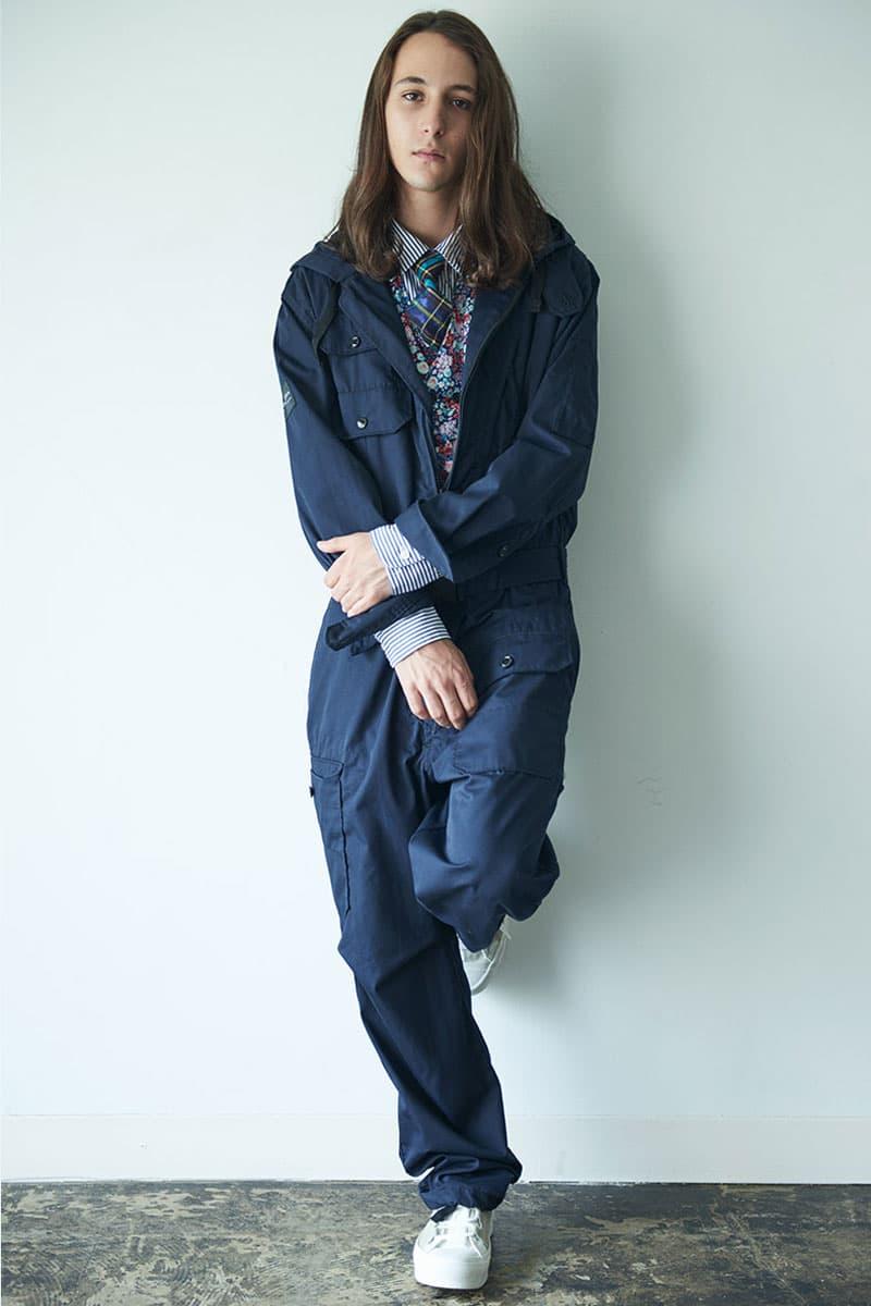 Nepenthes Engineered Garments IBUKI KOGEISHA CO LTD Uniform Capsule Workwear Boilersuits coverall navy
