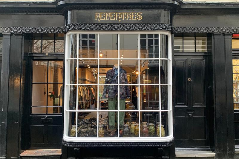 NEPENTHES  London Website Web Store Brand Labels NEEDLES Engineered Garments Sasquatchfabrix South2 West8 AiE Wang Chomphu Online Buying Shopping