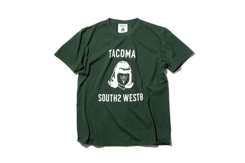 "Nepenthes ""South2 West8"" Tacoma Fuji Records Pop-Up New york city capsule japan osaka tokyo hakata ss19 spring/summer 2019 t-shirt"