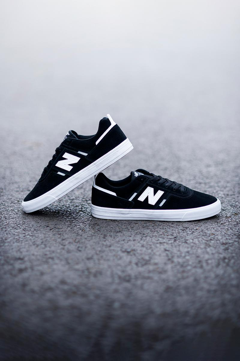 New Balance 306 Jamie Foy Pro Skateboarder Release Skater of the Year 2018 Footwear Sneaker Drop Numeric New Silhouette Vulcanized Black White Green Red