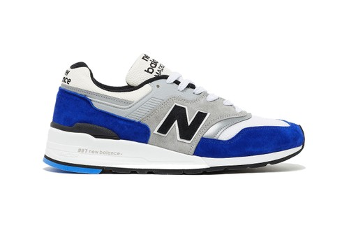 New Balance Applies Premium Blue Suede to the M997