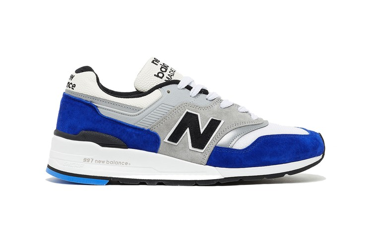 ef26fd16f6 New Balance Applies Premium Blue Suede to the M997