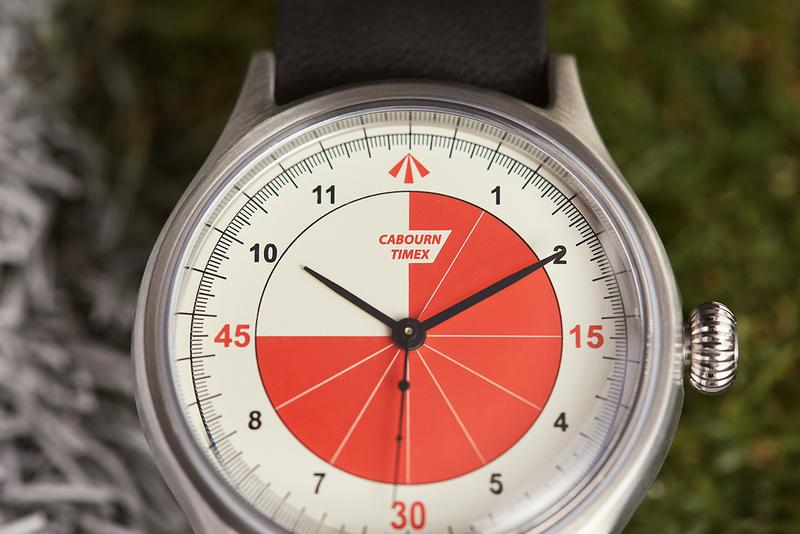 """Nigel Cabourn x Timex """"Referee"""" Watch Release Information 1950s Football Inspiration Closer Look Timepiece Interchangeable Straps MK1 40mm stainless steel case"""