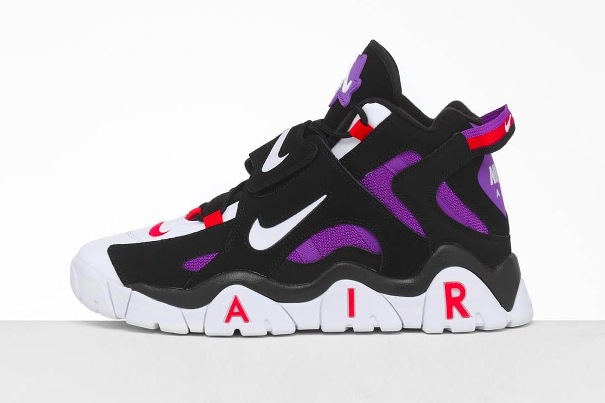Nike Air Barrage Mid Raptors Colorway