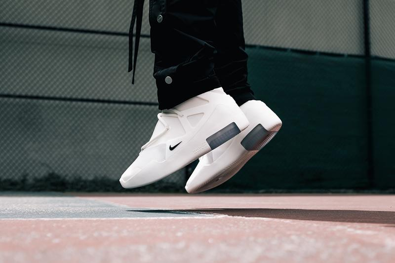 "Nike Air Fear of God 1 ""Summertime Sail"" On-Feet colorway release date info buy june 8 2019 jerry lorenzo"