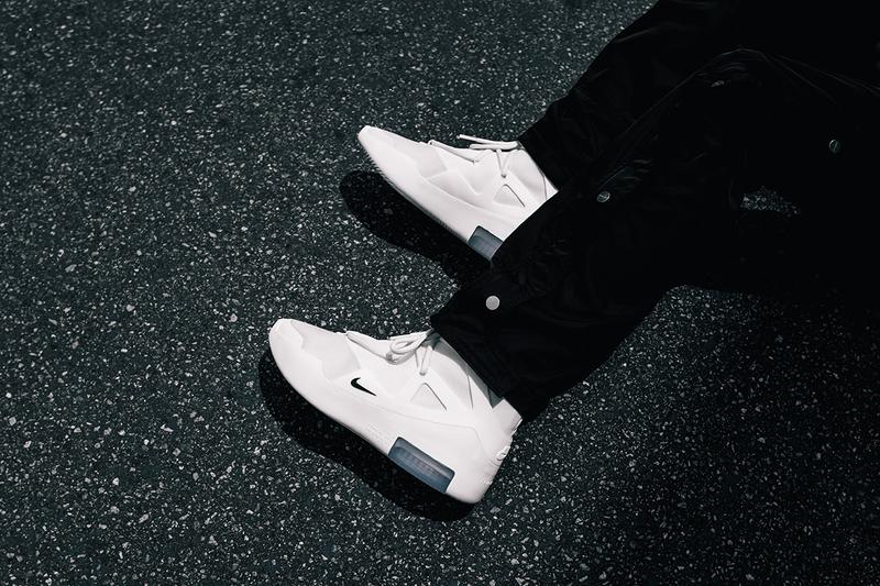 """Nike Air Fear of God 1 """"Summertime Sail"""" On-Feet colorway release date info buy june 8 2019 jerry lorenzo"""