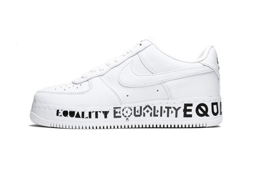 "Nike Sends a Message With the Air Force 1 Low CMFT ""Equality"""