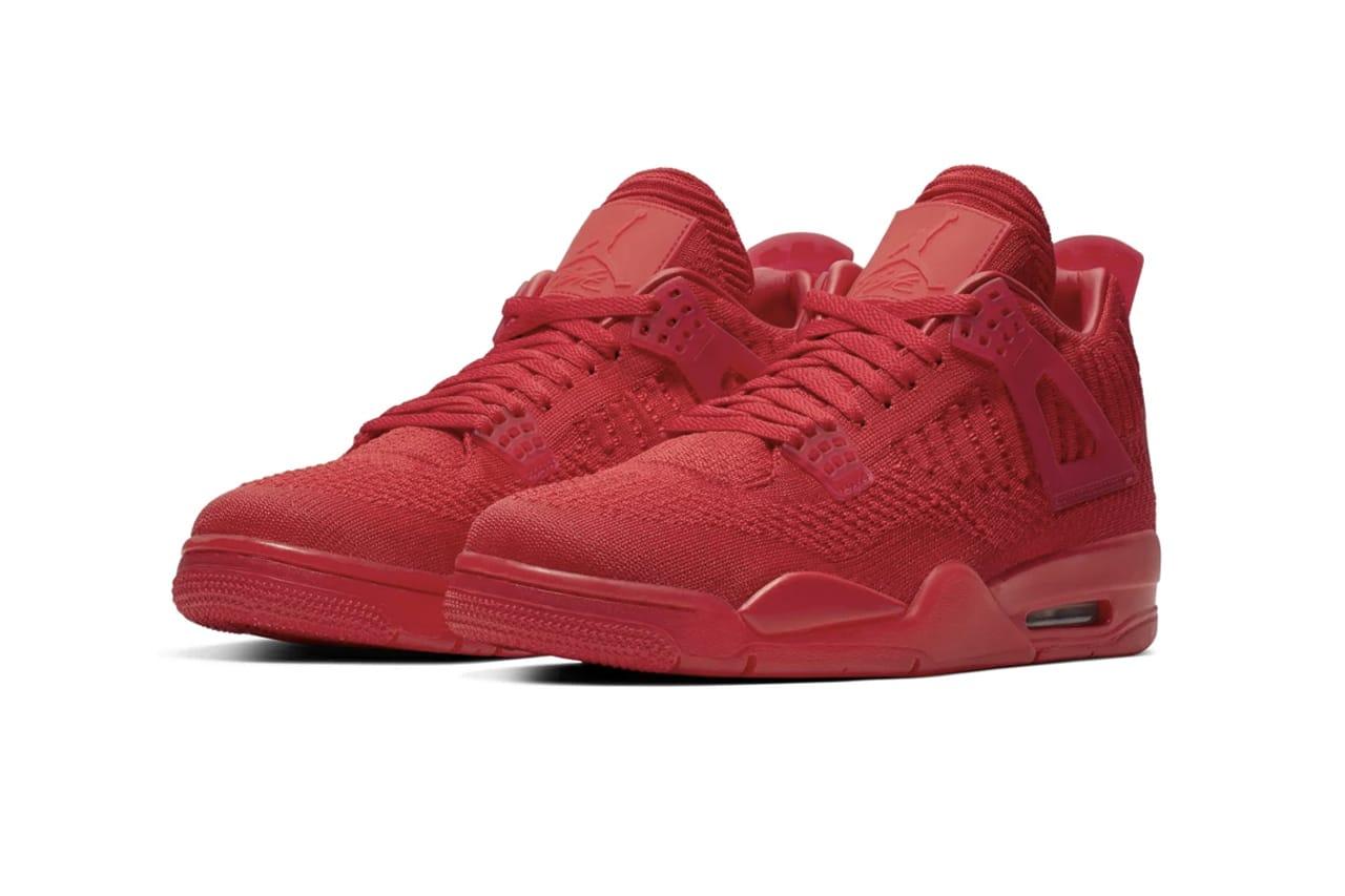 """Nike Air Jordan 4 """"University Red"""