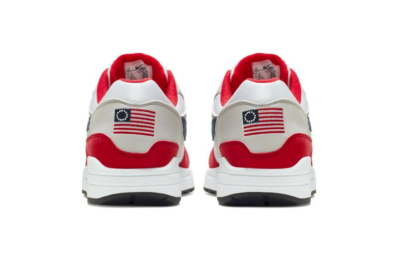 Nike Air Max 1 Fourth of July Release Info CJ4283-100 red white flag
