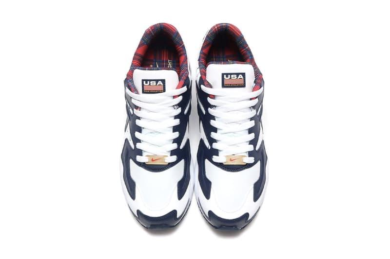 Nike Air Max 2 max2 Light Tailwind IV 4 USA Release Info ck0849-400 ck0848-100 america red white blue mini swoosh