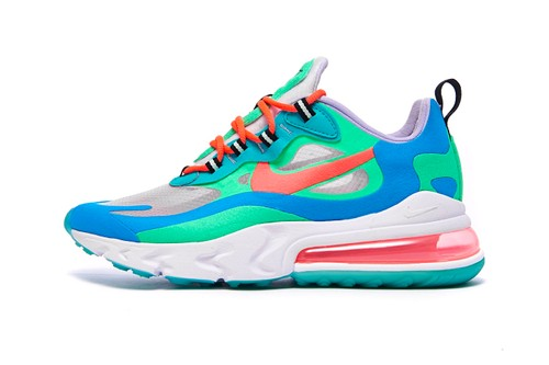 Nike Offers the Air Max 270 React in Three Seasonal Transition Colors