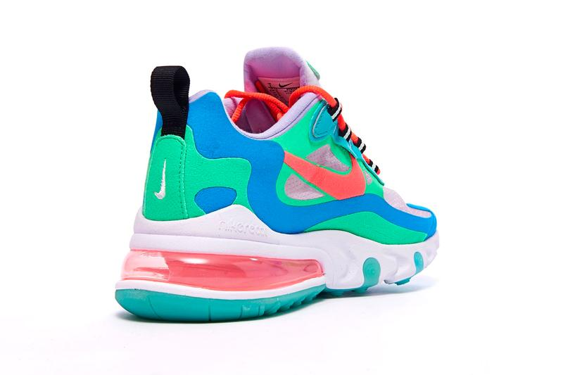 Nike Air Max 270 React Electro Green Flash Crimson Hyper Jade