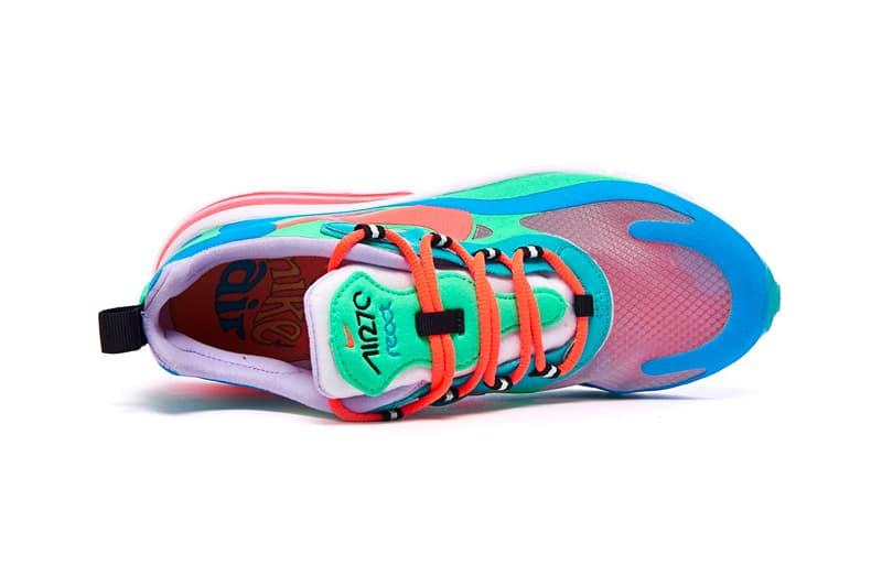 "Nike Air Max 270 React ""Hyper Jade"" release where to buy price sneaker 2019"
