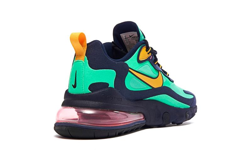 Nike Air Max 270 React Electro Green Flash Crimson Hyper Jade Release Info AO4971-300 AT6174-300 AO4971-301