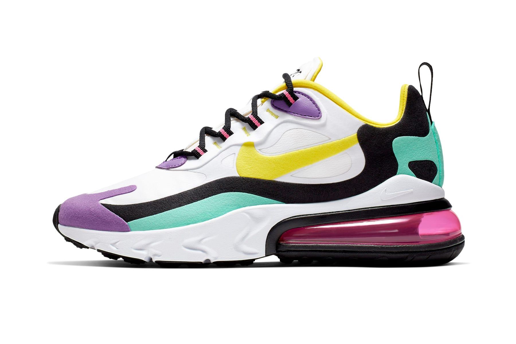 Nike Air Max 270 React Sneaker Release
