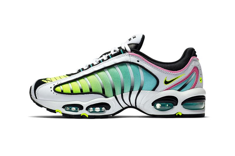 nike air max tailwind 4 china rose colorway release pink teal ombre yellow AQ2567-103 a aurora green white black volt