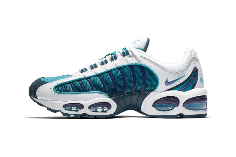 fb39707e7b nike air max tailwind 4 iv spirit teal blue colorway release june 2019