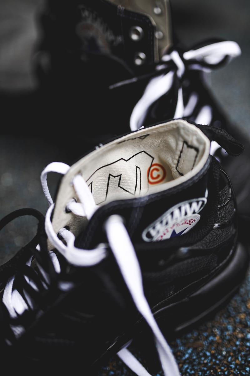 WWWESH STUDIO & Heightened's Nike Air Max Tn/Converse Chuck Taylor Hybrid sneakers custom sneakers