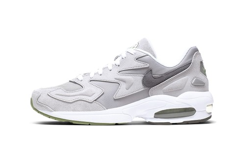"""Nike Reworks the Air Max2 Light in Muted Palettes of """"Grey/Chlorophyll"""""""