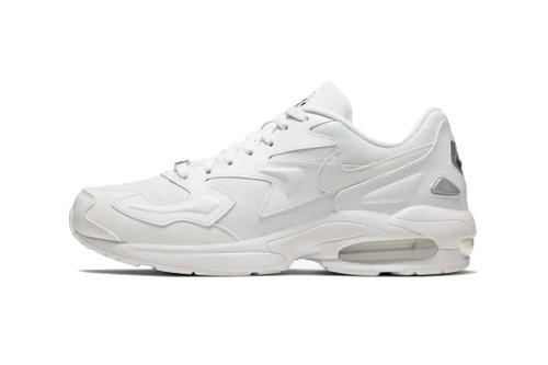 "Nike Reworks Air Max2 Light in Summer-Ready ""Triple White"""