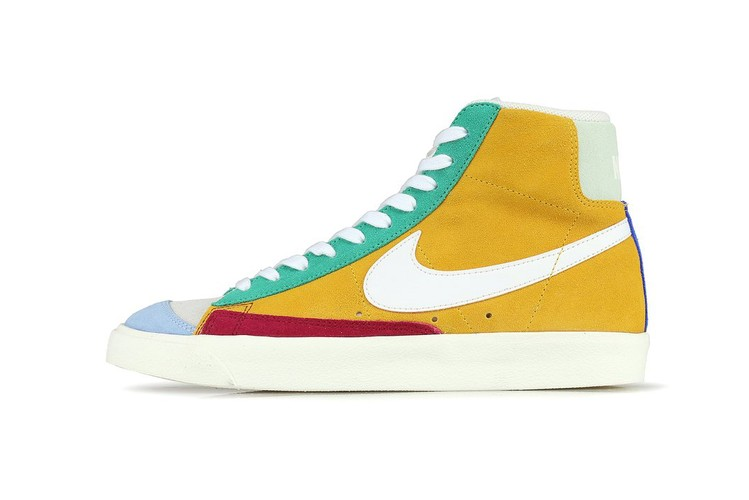 low priced aae77 26767 Nike Enlivens the Blazer Mid  77 Vintage With Bright Hues