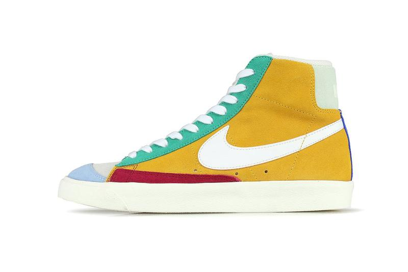 san francisco 607a1 7fa4a Nike Blazer Mid 77 Vintage Noble Red Kinectic Green Jade Aura