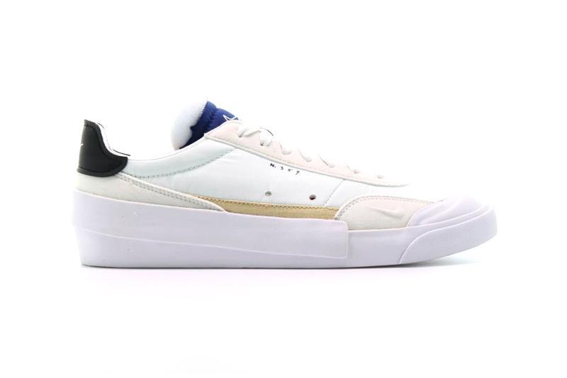 Nike Drop-Type LX Mint/Blue Release Info Style Code: AV6697-100 skate shoe white outsole deconstructed silhouette lifestyle Milk Store