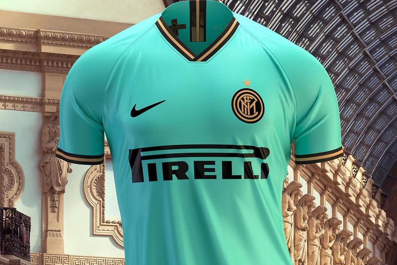 nike football away kit release information inter milan internazionale italy teal aquamarine black gold buy cop purchase june 26 serie a coppa italia champion's league