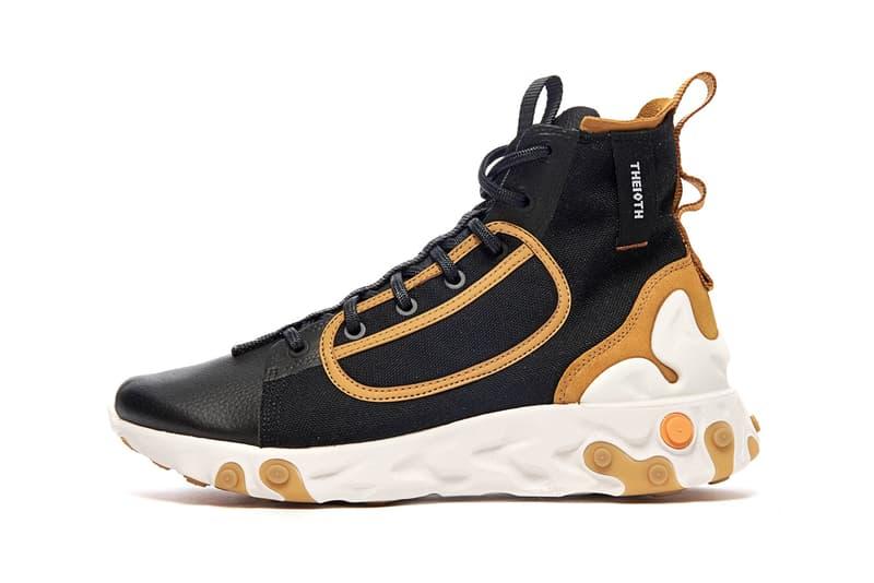 """Nike React Ianga """"Black/White-Wheat-Phantom"""" sneaker where to buy price release 2019"""