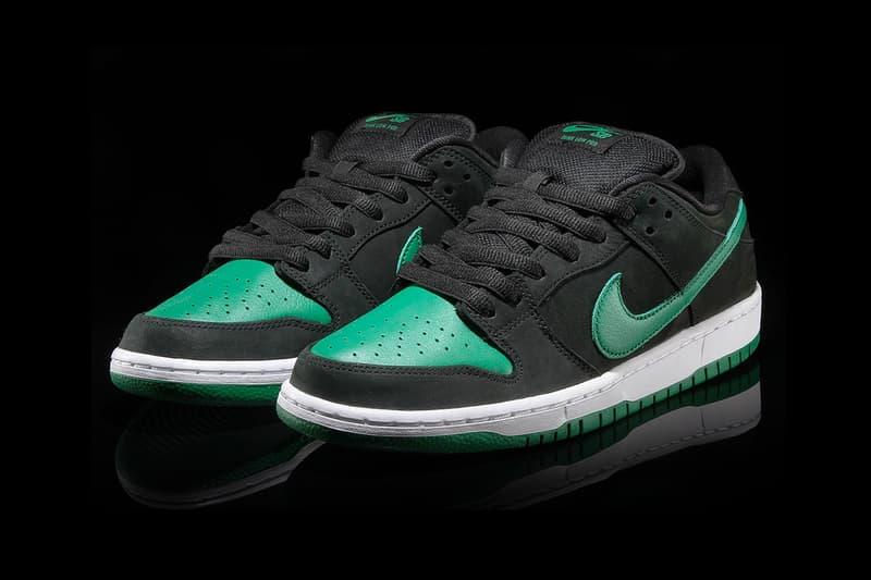 Nike SB Dunk Low Pro Pine Green Black J Pack Release Info BQ6817-005