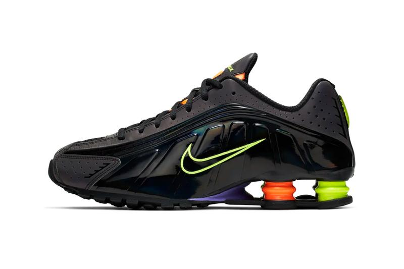 classic fit c4f22 c429c nike shox 4r black glow white flash colorway release dates china