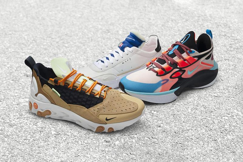 Nike Sportswear New Labels N. 354 THE10TH D/MS/X Concept Lines New Additions Sporting Footwear React Sertu Mowabb Concept Drop Type LX av6697