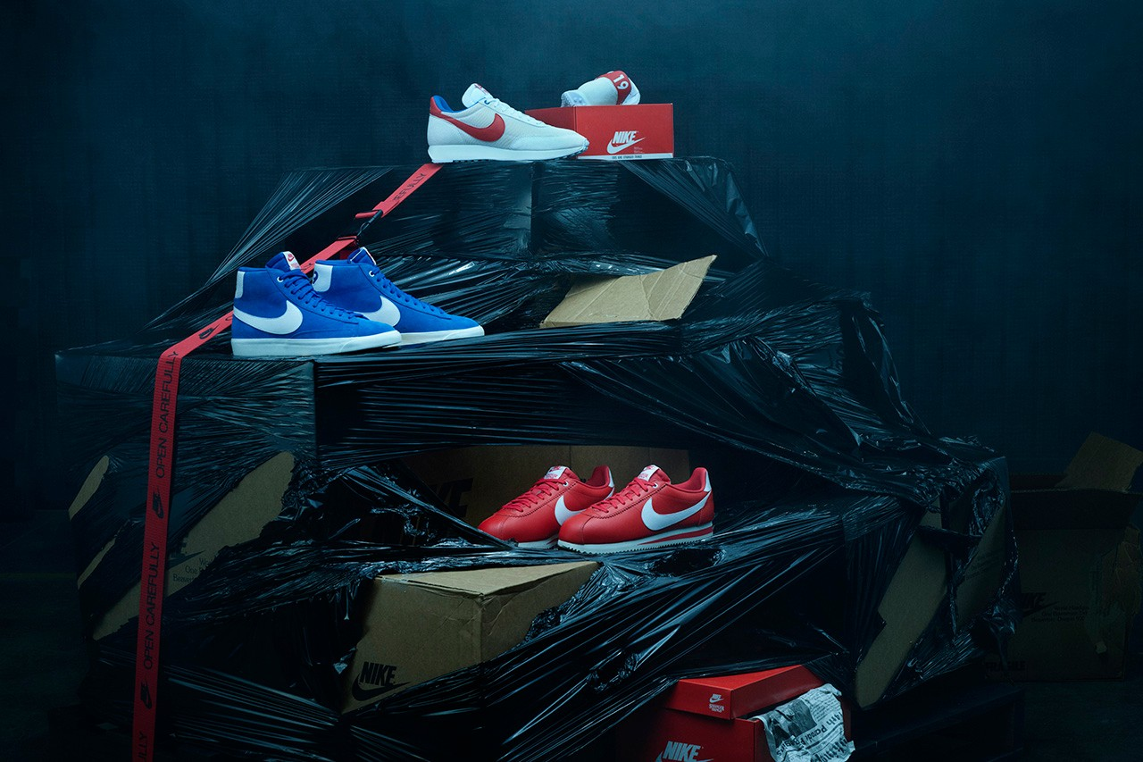 Best Sneaker Releases: July 2019 Week 1 stranger things cortez independance day fourth of july red white blue