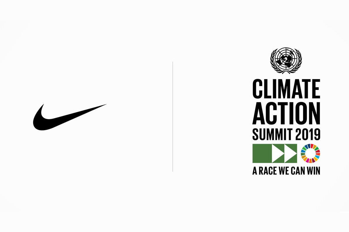Nike Joins the UN Climate Change and Fashion Industry Charter for Climate Action eco friendly sustainability environment greenhouse gas emissions