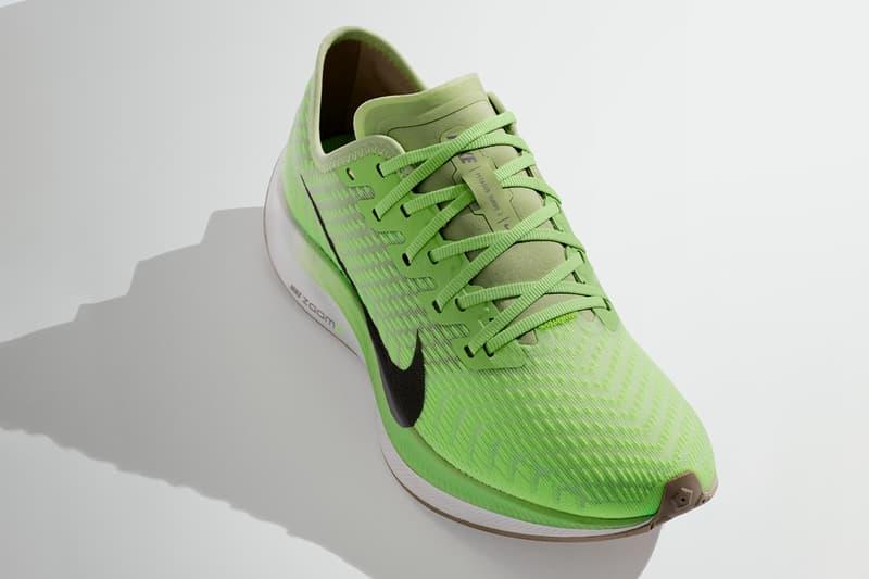Nike Zoom Series 3 Air Pegasus 36 Turbo 2 Zoom Fly 3 Zoomx Vaporfly NEXT% Footwear Sneaker Release Updates 2019 Swoosh Neon Green Colorways