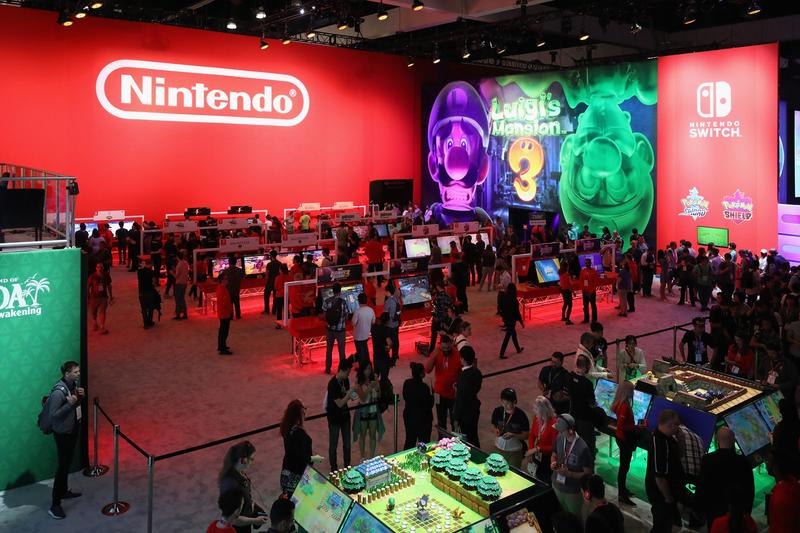 Nintendo E3 2019 Roundup The Legend of Zelda: Breath of the Wild super smash bros ultimate Link's Awakening Cadence of Hyrule Luigi's Mansion 3 Daemon X Machina No More Heroes 3  Pokémon Sword And Shield Dragon Quest XI S: Definitive Edition Witcher 3 Resident Evil 5 6 Contra: Rogue Corps  Panzer Dragoon Dark Crystal  Empire Of Sin Mario & Sonic at the Tokyo Olympics Dead By Daylight