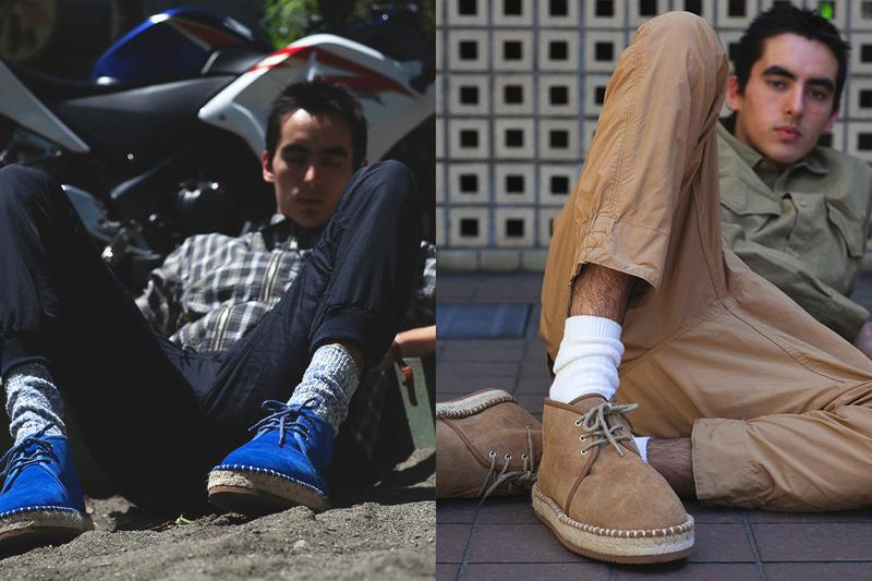 "nonnative x Suicoke ""SCIENTIST"" Chukka Collaboration boot espadrille release date info june 8 2019"