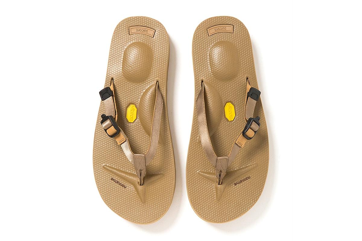nonnative Suicoke HUNTER MARINER Sandal Suede technical progressive beach Takayuki Fujii Vibram sole rubber instep ergonomic cushioning