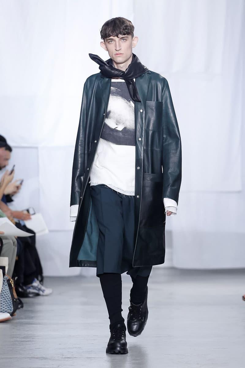 OAMC Spring/Summer 2020 Runway Collection PFW mens paris fashion week ss20 adidas originals collaboration sneaker luke meier