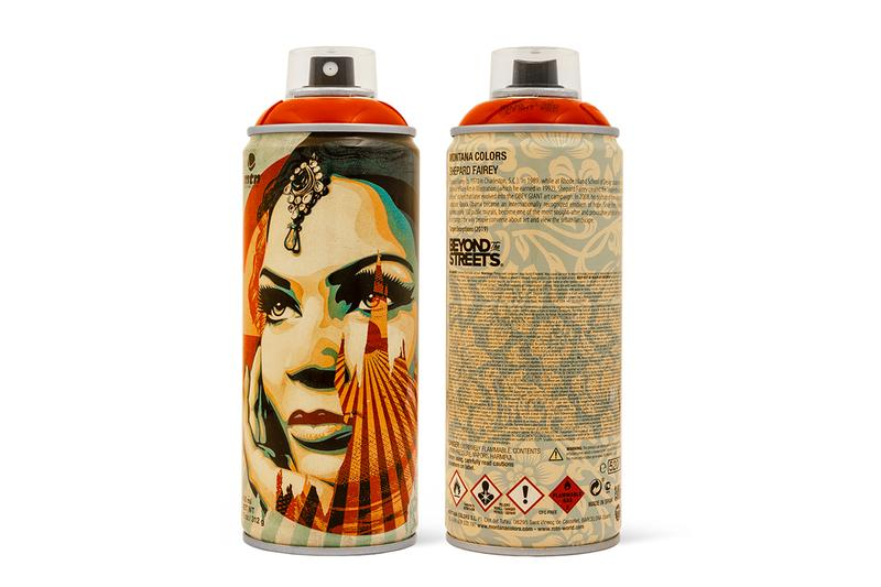 OBEY Giant x Beyond the Streets x Montana Cans spray paint art graffiti shepard fairey 30th anniversary