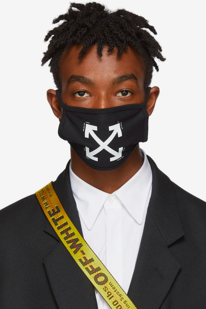 Off-White Arrow White Color Face Mask