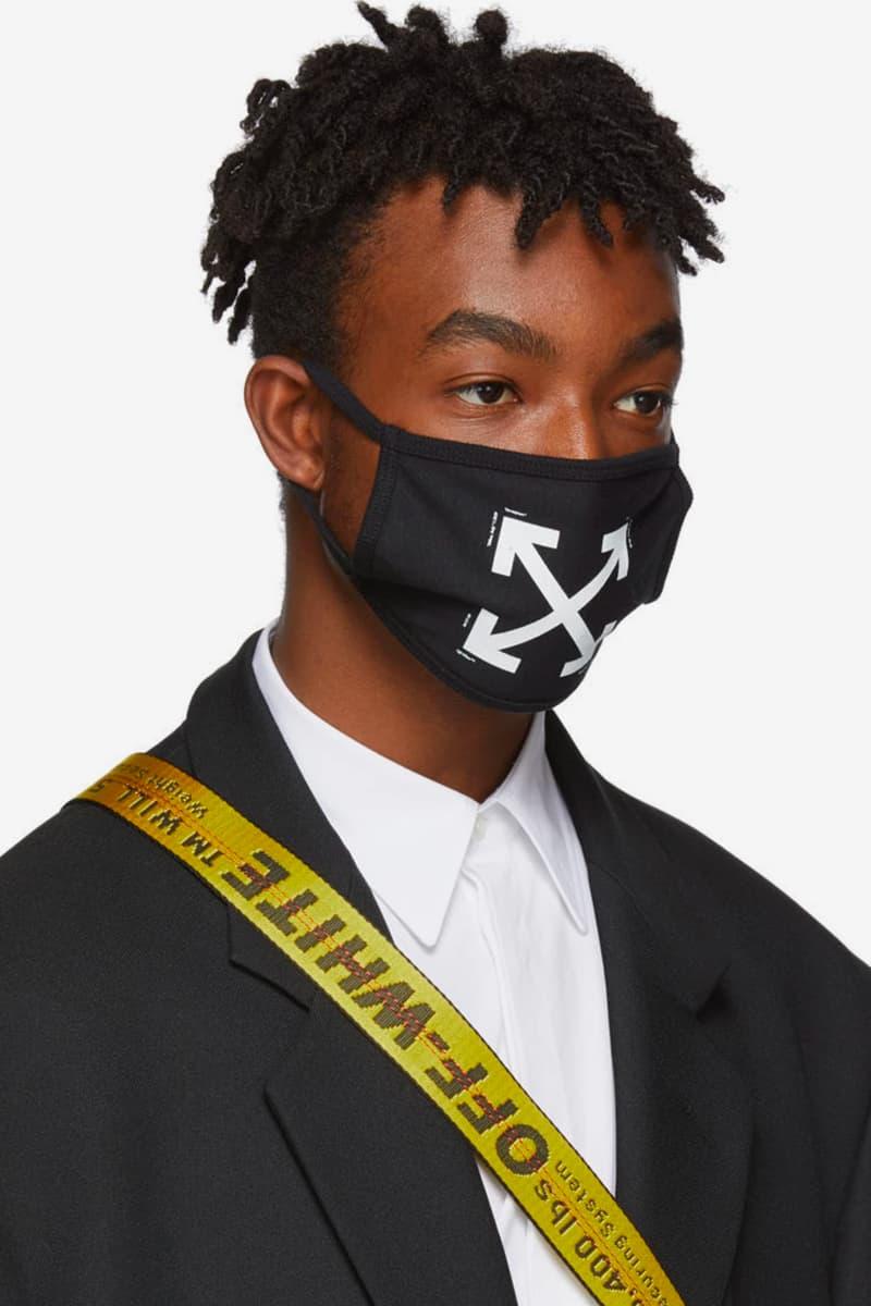 Off-White™ Arrows Logo Masks Release Virgil Abloh Fall Winter 2019