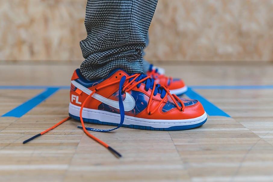 Futura x Off-White x Nike SB Dunk Low